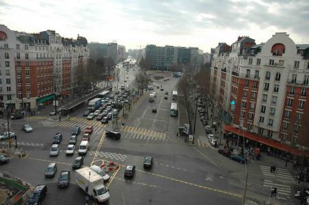 Les travaux du tramway Porte d'Orléans (suite)