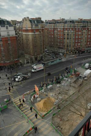 Les travaux du tramway Porte d'Orléans (fin)