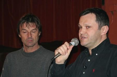 Pierre Vallet accueille Nicolas Hulot