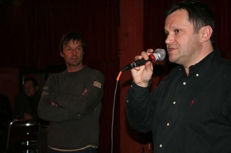 Pierre Vallet remercie l'orateur