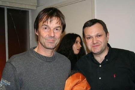 Nicolas Hulot et Pierre Vallet