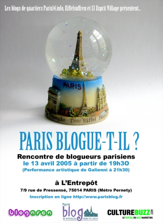 Paris blogue-t-il ? - part. I