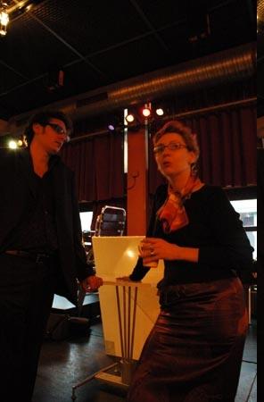 Nathan Guetta et Carole de l'Entrepôt