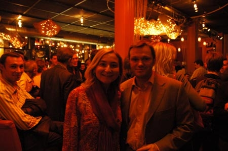 Roxane Decorte et Pierre Vallet