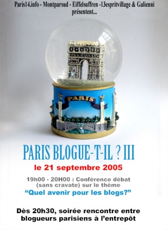 Paris blogue-t-il ? III