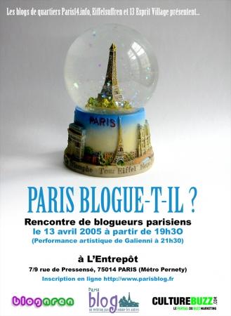 Paris blogue-t-il ? Part. II