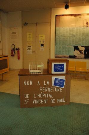 Sauvegarde de Saint-Vincent de Paul