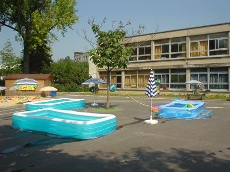 ...et piscinettes
