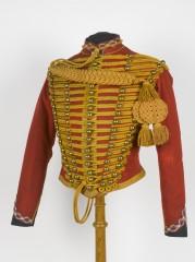 Exposition, Mouchoirs avec armes et bagages dans un mouchoir de poche, Musée de l'Armée